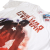 Marvel Men's Captain America Civil War Stance T-Shirt - White: Image 2