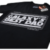 Star Wars Men's Galaxy's Best Dad T-Shirt - Black: Image 2