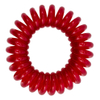 MiTi Professional Hair Tie - Ruby Red (3pc): Image 1