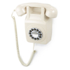 GPO Retro 746 Push Button Wall Telephone - Ivory: Image 1