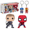 Captain America: Civil War Pop! Vinyl Figure and Key Chain 4-Pack: Image 1