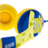 SpongeBob SquarePants Epic Children's On-Ear Headphones - Yellow/Blue: Image 4