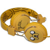 Adventure Time Jake and Finn Jake The Dog Folding On-Ear Headphones: Image 2