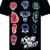 DC Comics Men's Suicide Squad Villain Skull T-Shirt - Black: Image 2