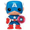 Marvel Captain America 75th Anniversary Limited Edition EXC Pop! Vinyl Figure: Image 1