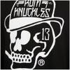 Rum Knuckles Classic Logo Crew Neck Sweatshirt - Black: Image 3