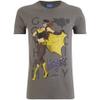 DC Comics Bombshells Men's Batgirl T-Shirt - Grey: Image 1