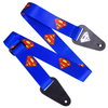 Superman Logo Fabric Guitar Strap: Image 1