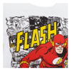 DC Comics Men's The Flash Comic Strip T-Shirt - White: Image 3
