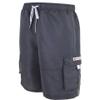 Hot Tuna Men's Regular Joe Shorts - Charcoal: Image 1