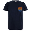 Hot Tuna Men's Colour Fish T-Shirt - French Marine: Image 1