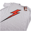 Flash Gordon Men's Flash T-Shirt - Grey Marl -: Image 3