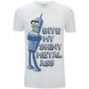 Futurama Men's Bender Bite T-Shirt - White: Image 1