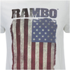 Rambo Men's Flag T-Shirt - White: Image 5
