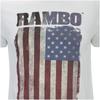 Rambo Men's Flag T-Shirt - White: Image 5