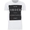New Order Men's Substance Boxes T-Shirt - White: Image 1