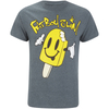 Fat Boy Slim Men's Ice Lolly T-Shirt - Dark Heather: Image 1