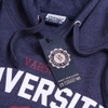 Varsity Team Players Men's University Athletic Hoody - Navy: Image 4