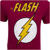 DC Comics Men's Flash T-Shirt - Red: Image 3