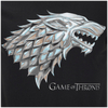 Game of Thrones Men's Stark Sigil T-Shirt - Black: Image 3