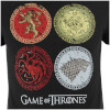 Game of Thrones Men's House Crests T-Shirt - Black: Image 3