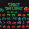 Atari Men's Space Invaders Rainbow Arcade Game T-Shirt - Black: Image 3