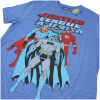 DC Comics Men's Justice League T-Shirt - Heather Royal: Image 3