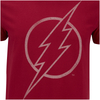 DC Comics Men's The Flash Line Logo T-Shirt - Cardinal Red: Image 5