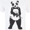 DC Comics Men's Suicide Squad Panda T-Shirt - Black: Image 4
