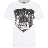 DC Comics Suicide Squad Men's Sheild T-Shirt - White: Image 1