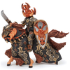 Papo Fantasy World: Dark Beetle Warrior and Horse: Image 1