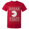 Namco Men's Merry Pac-Man Christmas T-Shirt - Red: Image 1