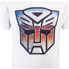 Transformers Men's Transformers Multi Emblem T-Shirt - White: Image 2