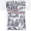 Transformers Men's Comic Strip T-Shirt - White: Image 4
