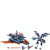 LEGO Nexo Knights: Clay's Falcon Fighter Blaster (70351): Image 2