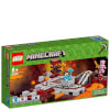LEGO Minecraft: The Nether Railway (21130): Image 1