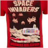 Atari Men's Space Invaders Del EAtari Space T-Shirt - Red: Image 3