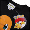 Pokemon Men's Charmander T-Shirt - Black: Image 3