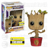 Funko Pot Sticker Damaged Ravagers Dancing Groot Pop! Vinyl: Image 1