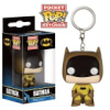 Funko Batman Yellow Suit Keychain Pop! Keychain: Image 1