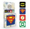 DC Comics Logos Coaster Pack: Image 1