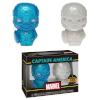 Hikari Marvel True Blue Captain America Vinyl Figure: Image 2