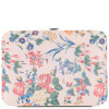 The Vintage Cosmetics Company Pedicure Purse - Pink/Floral Satin: Image 2