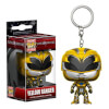 Power Rangers Movie Yellow Ranger Pocket Pop! Key Chain: Image 1