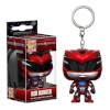 Power Rangers Movie Red Ranger Pocket Pop! Key Chain: Image 1