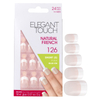 Elegant Touch Natural French Nails - 126 (S) (Pink): Image 1
