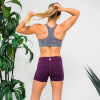 XL - Core Training Shorts - Dark Berry: Image 3