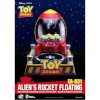 Beast Kingdom Disney Toy Story Egg Attack Alien's Floating Rocket Model with Light up Function 18cm: Image 1