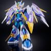 Mega Man X Chogokin Diecast Mega Man X Giga Armor X Version 4cm Action Figure: Image 4