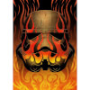 Star Wars Metal Poster - Masked Troopers Flames (68 x 48cm): Image 1